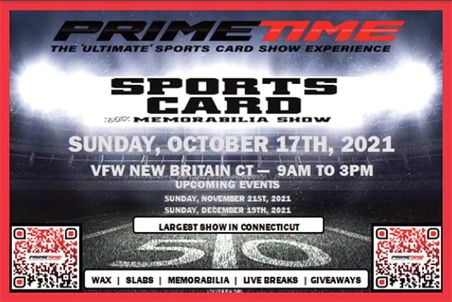 primetime sports card show